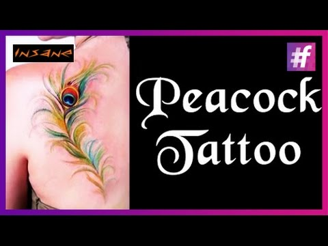 Rectification Of Unprofessionaly Made Tattoo | Symbolic Peacock Feather Tribal Tattoo Tutorial