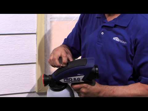 paint sprayer how to - Airless paint sprayers can help you accomplish painting projects like fences, decks, home exteriors, and garage doors quicker and easier than using a brush o...