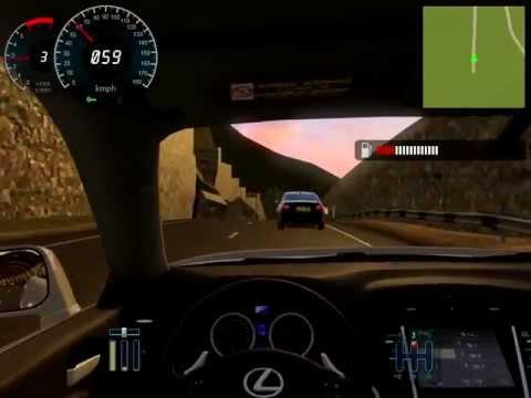City Car Driving Gameplay: Mountainous Area (видео)