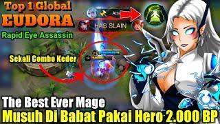 Video Aw4s Teg4ngan Listrik Tinggi   Hero 2000 BP Di Segani Musuh - Top 1 Global Eudora Rapid Eye Assassin MP3, 3GP, MP4, WEBM, AVI, FLV Oktober 2018