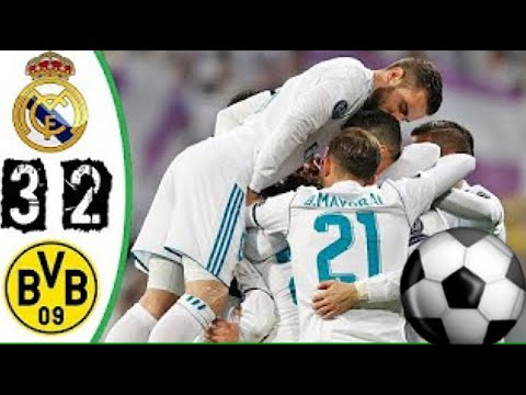 Real Madrid vs Borussia Dortmund 3-2 - All Goals and Highlights - 6.12.17