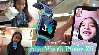 Video Pengalaman Zara Cute pakai imoo Watch Phone Z5 | Jam Anak bisa Video Call | Kado Ulang Tahun MP3, 3GP, MP4, WEBM, AVI, FLV Mei 2019