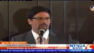 """Suscríbase a nuestro canal en YouTube: http://tinyurl.com/NTN24VENEZUELAEste domingo, el vicepresidente de la Asamblea Nacional, Freddy Guevara, se pronunció sobre la detención """"arbitraria"""" del magistrado Ángel Zerpa -quien goza de un antejuicio de mérito- por efectivos del Servicio Bolivariano de Inteligencia Nacional (Sebin) un día después de ser juramentado para formar parte del Tribunal Supremo de Justicia (TSJ).También puede seguirnos en nuestras redes sociales:Twitter: https://twitter.com/ntn24veFacebook: https://www.facebook.com/NTN24veInstagram: https://instagram.com/ntn24ve"""