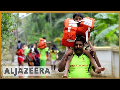 🇮🇳 Kerala Floods 2018: Kerala Faces Massive Flood In 100 Years | Al Jazeera English