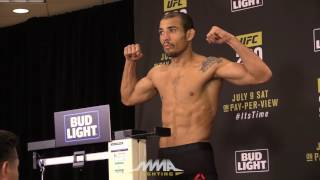 UFC 200 Official Weigh-In Video by MMA Fighting