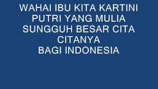 Download Video Dhyo Haw - Ibu Kita Kartini (LYRICS) MP3 3GP MP4