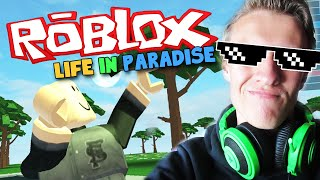 ROBLOX - LIFE IN PARADISE - I'VE GOT MY OWN BABY!? (Funny Moments Gameplay)