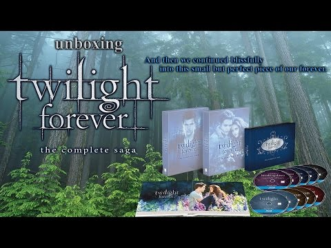 Twilight Forever - The Complete Saga 10-Disc Blu-ray Box Set Unboxing Video