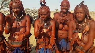 Dances of women of the tribe Himba in Namibia.
