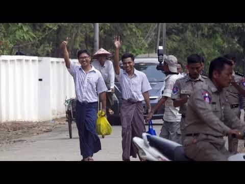 Myanmar: Inhaftierte Reuters-Reporter nach über 500 T ...