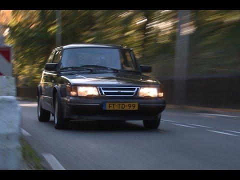 Achteruitkijkspiegel – 'Chimney Black, oude Saab-kleur'
