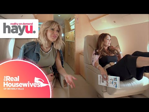 The Real Housewives Fly to Las Vegas | Season 8 | The Real Housewives of Beverly Hills