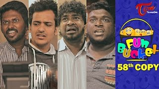 Video Fun Bucket   58th Copy   Funny Videos   by Harsha Annavarapu   #TeluguComedyWebSeries MP3, 3GP, MP4, WEBM, AVI, FLV April 2019