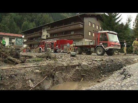 Αυστρία: Σοβαρά προβλήματα από τις πλημμύρες