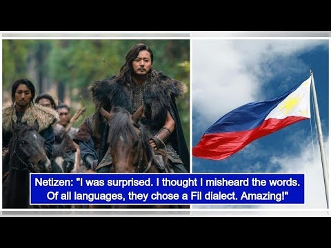 """Philippine languages featured in the K-drama series """"Arthdal Chronicles"""""""
