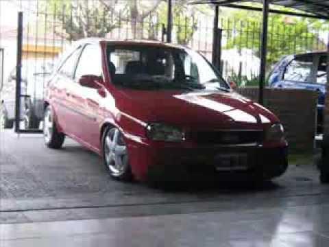 sdy suspension+corsa rojo
