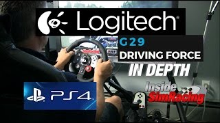 Logitech G29 Unboxing and In Depth Look - PS4