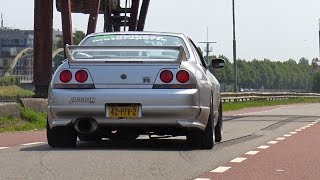 Nonton 565HP Nissan Skyline GTR R33 V-Spec - Anti-Lag Sound! Film Subtitle Indonesia Streaming Movie Download