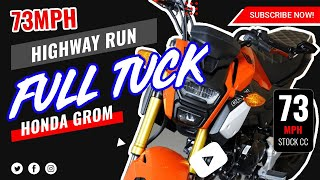 9. MotoBros - Honda Grom Top Speed 73 MPH