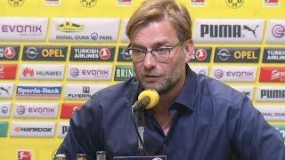 Klopp löst seinen Vertrag bei Dortmund auf (Pressekonferenz)
