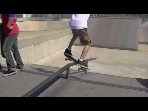 YMCA Skatepark and 540 Flip
