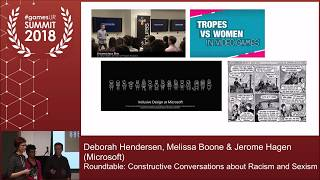 Roundtable: Constructive Conversations about Racism and Sexism