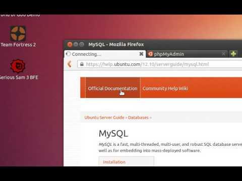 UBUNTU 12.10 – INSTALL MYSQL SERVER & PHPMYADMIN with JUST 2 COMMANDS