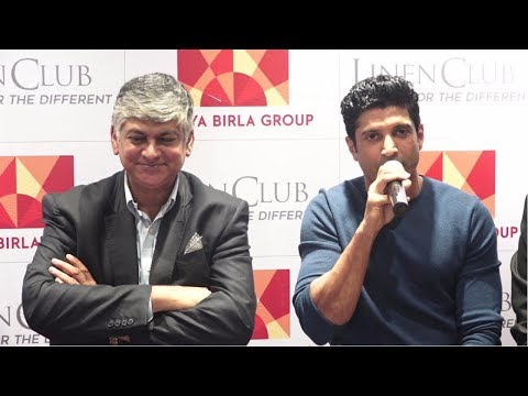 Farhan Akhtar Talks About His Personal Style Mantra At Inauguration Of Linens Club Newest Outlet