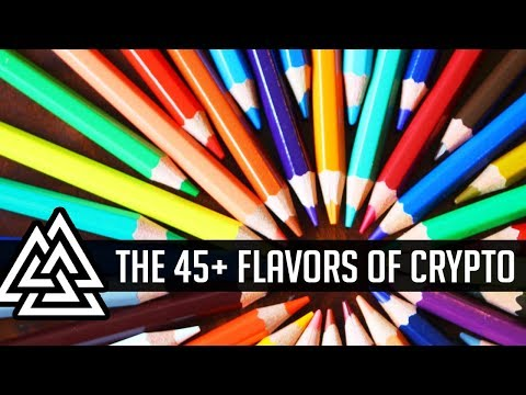 What Are The Different Types Of CryptoCurrency? 45+ Crypto Sectors Explained! Part 1
