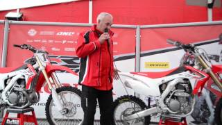 5. honda 2014 CRF250R  team  explains new specification