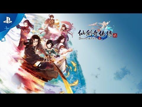 Sword & Fairy 6 - Launch Trailer | PS4 - Thời lượng: 77 giây.