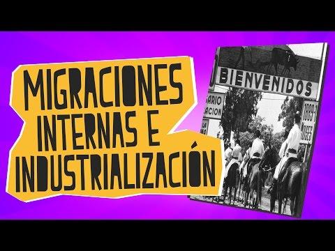 Migraciones internas e industrialización