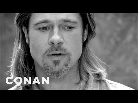Conan - Brad Pitt's Chanel Ad Just Got Weirder