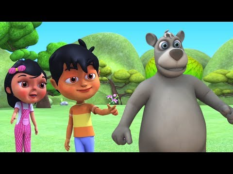 Kalu Madari Aaya   कालू मदारी आया   Hindi Rhymes And Baby Songs   Hindi Balgeet   Kids Channel India
