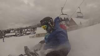 Krystian Rempała - GoPro Snowboarding Funny Video 5 luty 2015