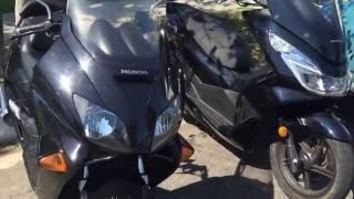 7. Honda reflex and Honda pcx scooters