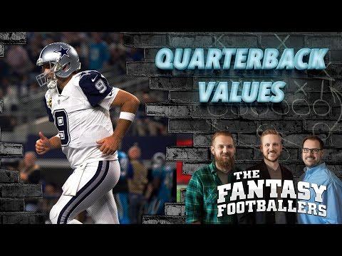 Fantasy Football 2016 - QB's 11-15, Sleeper QB's, Combine Hype - Ep. #238 (видео)