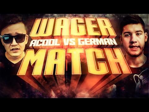 GERMAN VS ACOOL | WAGER-MATCH FIFA 17 (видео)
