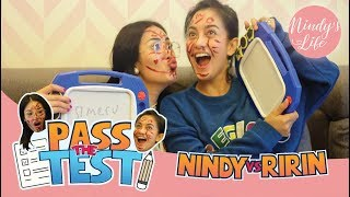 Video Nindy's Life: Pass the Test Challenge with Ririn Ekawati | Nindy Ayunda MP3, 3GP, MP4, WEBM, AVI, FLV November 2018