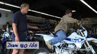 9. 2008 Suzuki DR-Z400SM Suspension Evaluation
