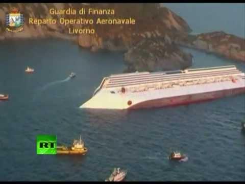 Лайнер Costa Concordia затонул у берегов Италии - Центр транспортных стратегий