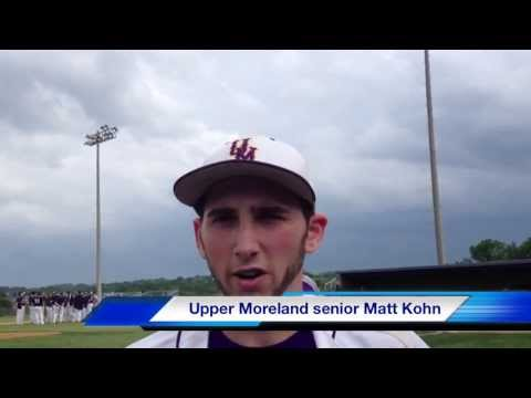 district - Upper Moreland scored early and staked pitcher Eddie Decker to a big lead en route to a 6-1 win over Pottstown in the PIAA District One Class AAA baseball se...