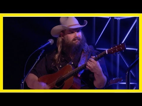 See chris stapleton perform a soaring 'millionaire' on 'ellen'