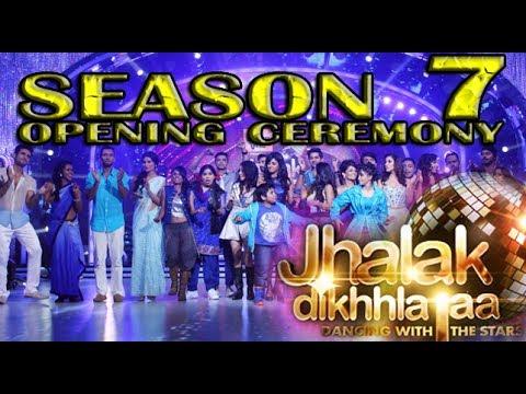 Video Jhalak Dikhla Jaa Season 7 GRAND OPENING CEREMONY 2014 FULL EPISODE Press Conf. download in MP3, 3GP, MP4, WEBM, AVI, FLV January 2017