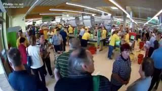 Otvoritev supermarketa Jager Ljutomer