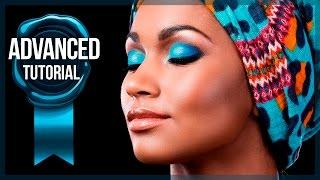 Advanced Photoshop Tutorial #10 - Lighten/Darken Selective Colors Trick