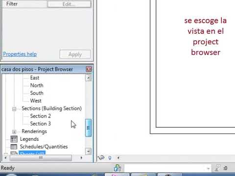 laminas - Rpida descripcin para crear lminas en Revit y crear el expediente.