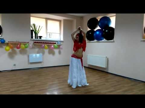 Восточный танец. Фитнес-студия ШЕЙП(г.Кривой Рог) (видео)