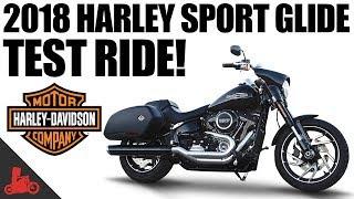 4. 2018 Harley-Davidson Sport Glide Test Ride!
