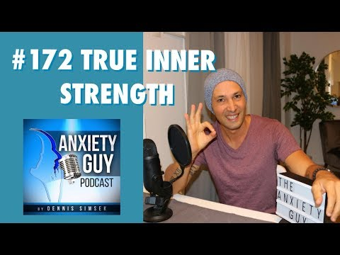Quotes about happiness - #AskTheAnxietyGuy  How An Awakening Can Lead To True Inner Strength And Happiness / Podcast #172